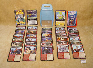 TOP TRUMPS - DC UNIVERSE HEROES & VILLAINS CARD DECK IN BOX 100% COMPLETE