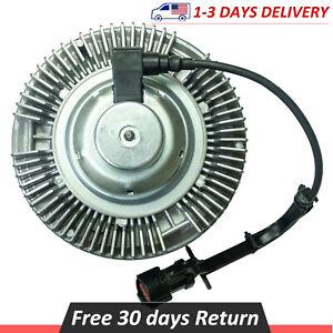 Electric Radiator Cooling Fan Clutch Power Stroke For Super Duty 6 0l V8 Diesel Ebay