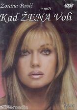 ZORANA PAVIC u prici Kad zena voli DVD 2005 Sbija Tama Srpski English Bugarski