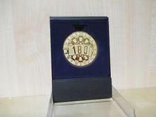 Medaillen 24 x Bogenschießen Alu Emblem Schießenemblem Gold 50mm Kinder Pokal Turnier