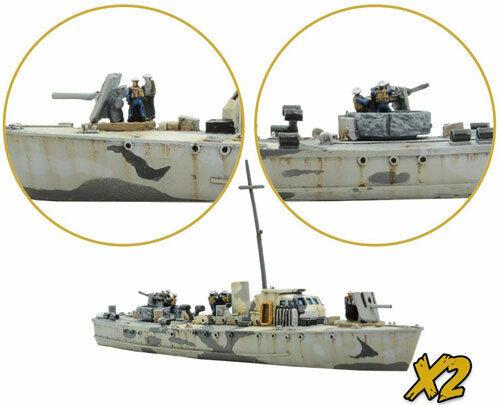 Cruel Seas Fairmile B Minesweeper