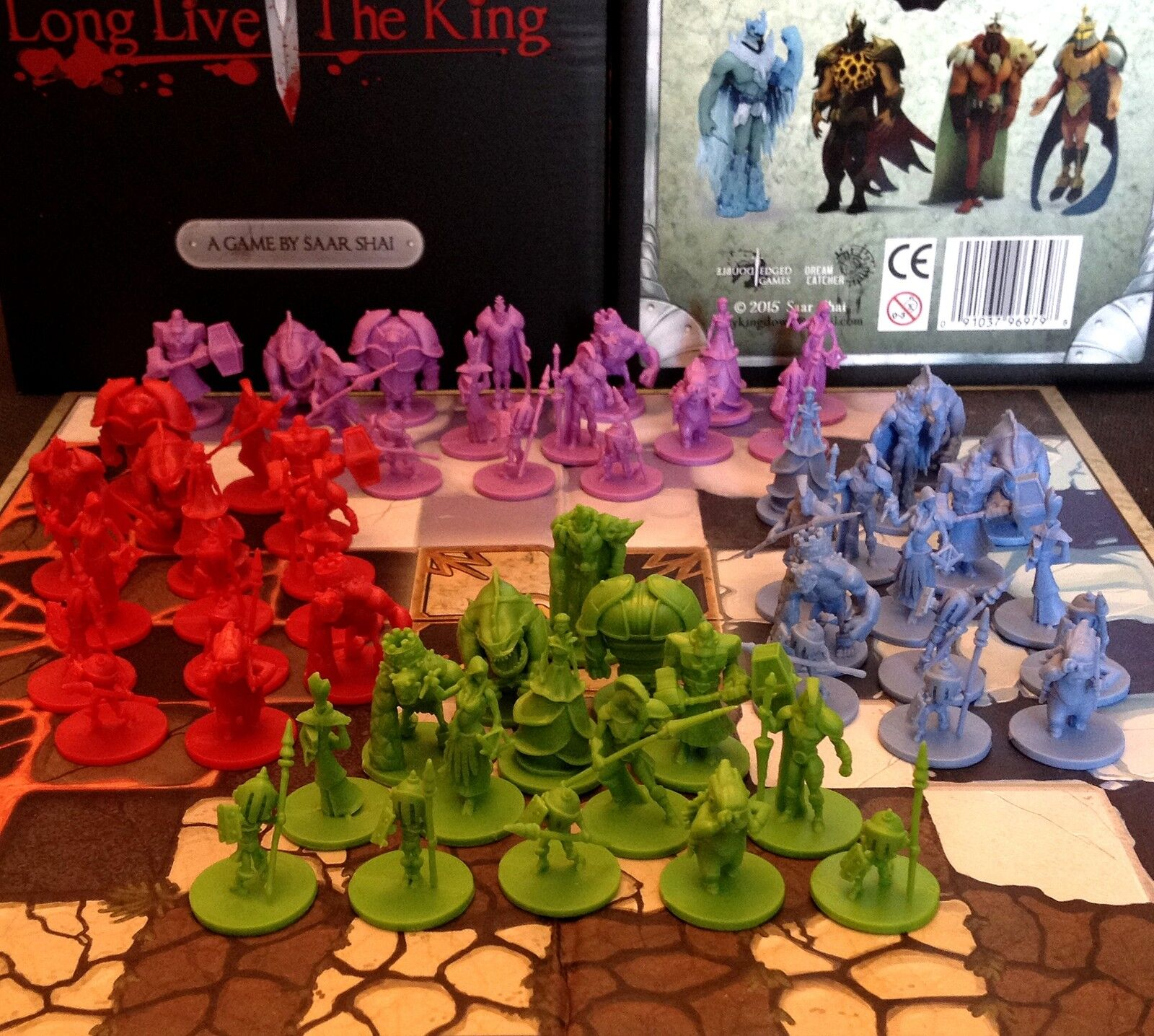 King Down Board Game - A New take on Chess with Fantastic Miniatures