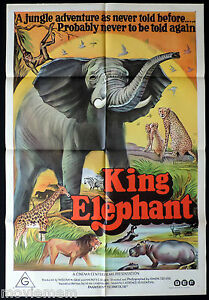 KING-ELEPHANT-Original-ONE-SHEET-Movie-Poster-The-African-Elephant-Documentary
