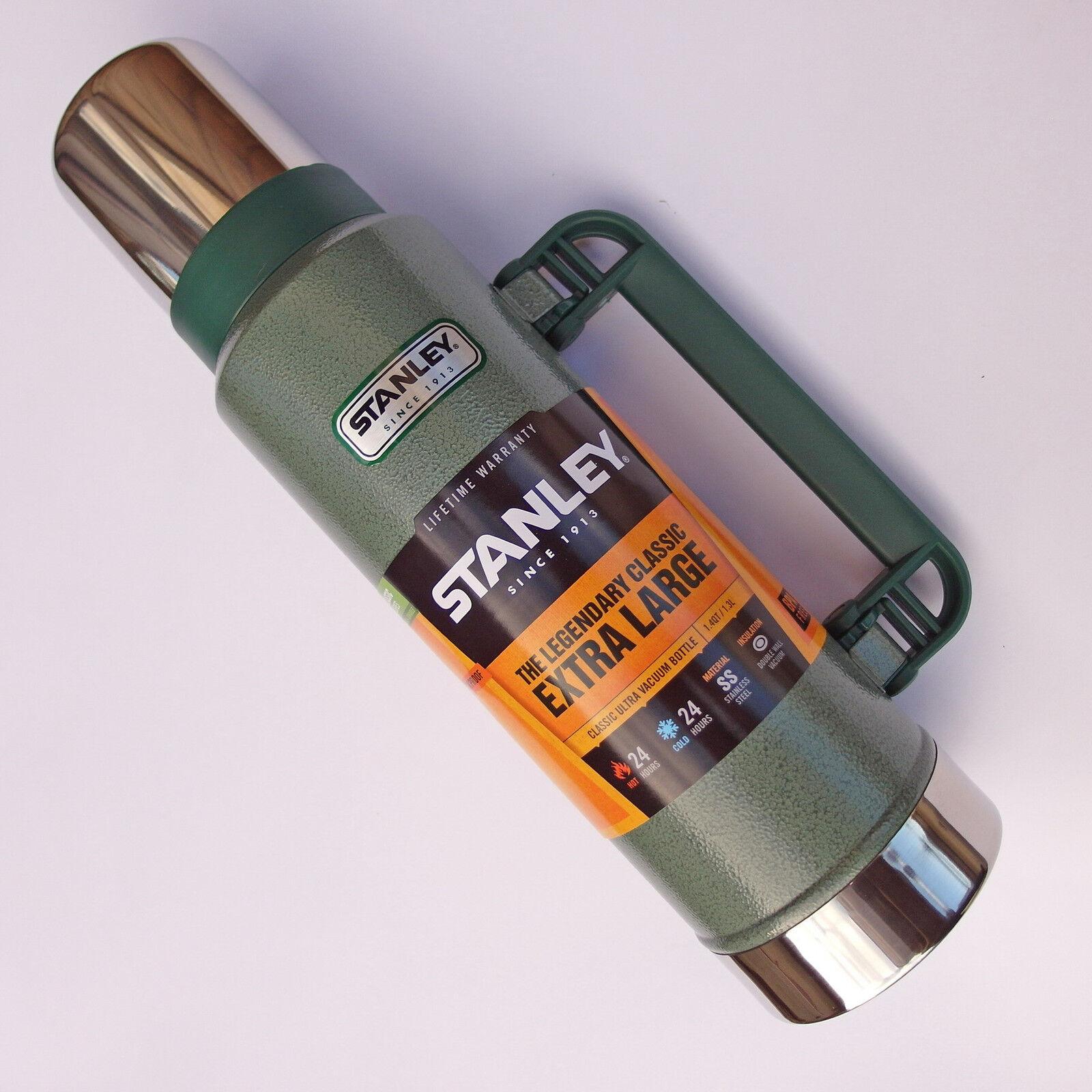 STANLEY Classic Vakuum-Flasche THERMOSFLASCHE Thermoskanne 1,3 Liter - 65840