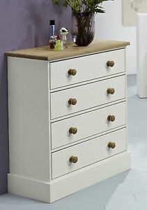 Balmoral White Bedroom Furniture, Bedside Table, Chest of Drawers ...