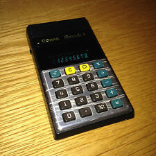 Vintage CANON Palmtronic 8 Calculator Green LCD Display Retro Rare Collectable