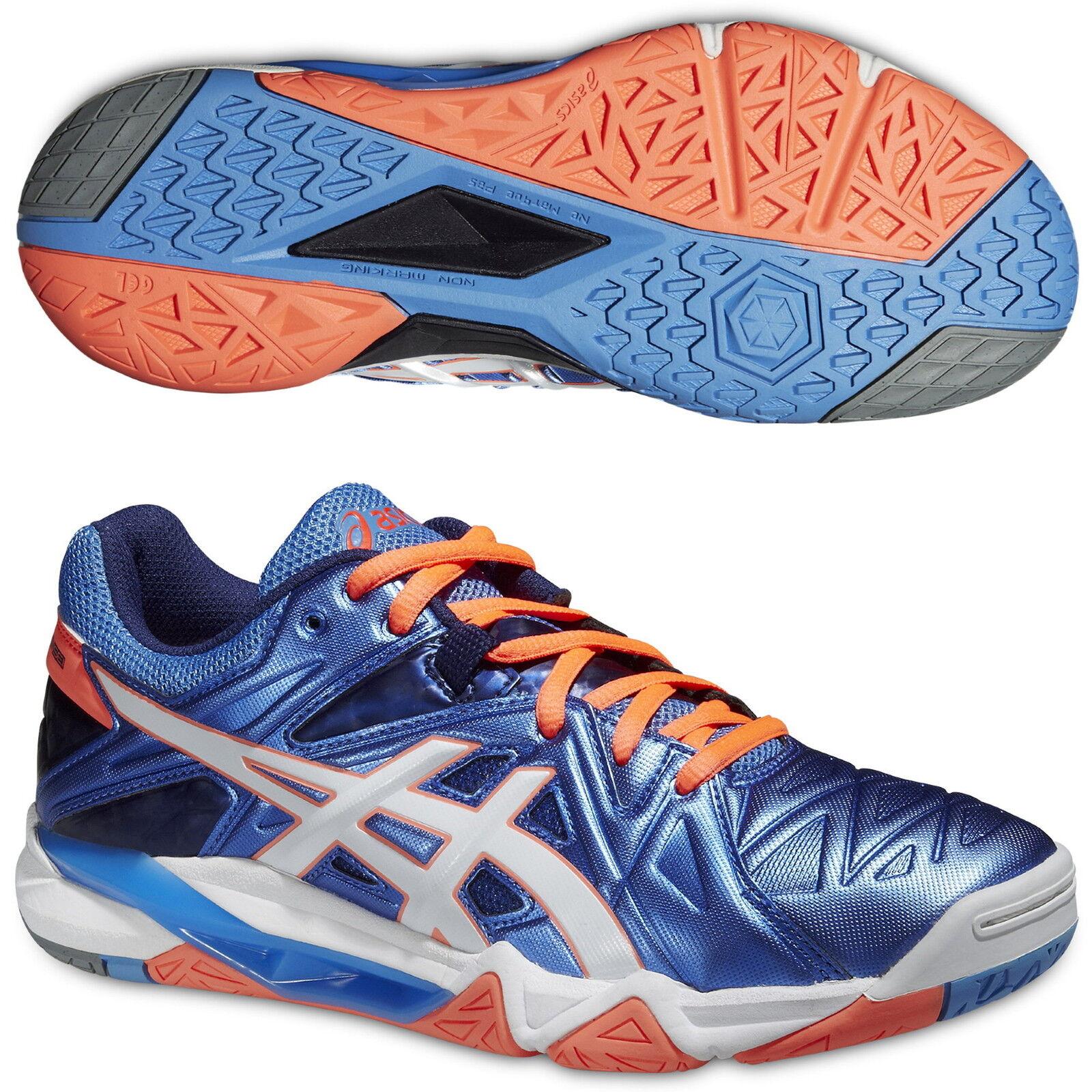 Asics GEL-SENSEI 6 Damen Hallenschuhe Volleyballschuhe  B552Y-4701 blau blau blau - Indoor  | Verschiedene Stile und Stile  | Große Auswahl  7a3cce