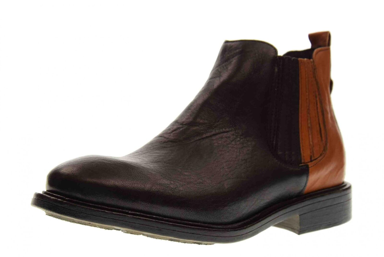 Creative A18us shoes woman ankle ankle ankle boots BELLA 722 TERRY BLACK   LEATHER fa57c1