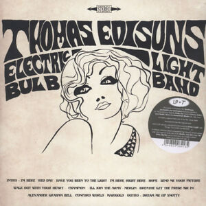 THOMAS-EDISUN-039-S-ELECTRIC-LIGHT-BULB-BAND-The-Red-Day-Album-vinyl-LP-7-034-psych