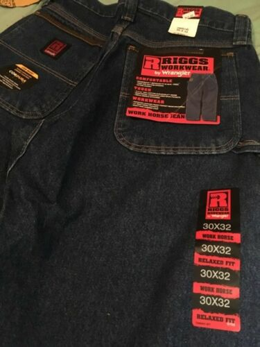 Riggs Durable Workhorse Wrangler Jeans Blue U8B66v