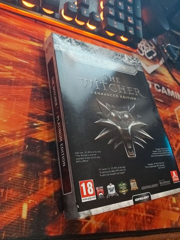 The Witcher Enhanced Edition, adventure