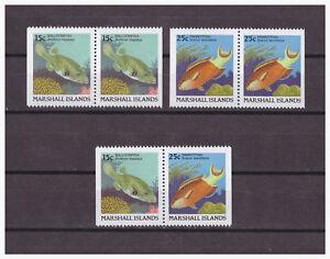 Marshall-Inseln-Poissons-Minr-172-D-173-D-1988