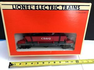 Lionel Train Operating Cb&q Chicago Burlington Quincy Coal Dump Car Set 6-16676 Comfortable And Easy To Wear Freight Cars