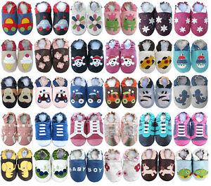 carozoo bébé chaussons enfant chaussures cuir semelle nouveau