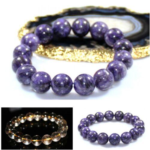 Natural divers Gemstone Bracelet brassard hommes /& femmes Bijoux Fête Des Pères Cadeaux