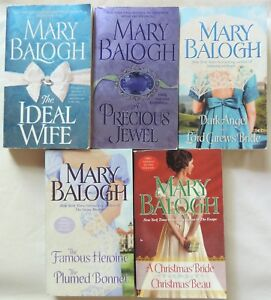 Details about 5 PBs/8 Novels MARY BALOGH Complete Series DARK ANGEL + Bonus  Novel NICE $ CUT!