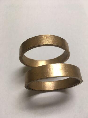 "Lot of 34~ Sintered Bronze Oil Impregnated Bushing 2.00 ID X 2.25 OD X .45"" Long"
