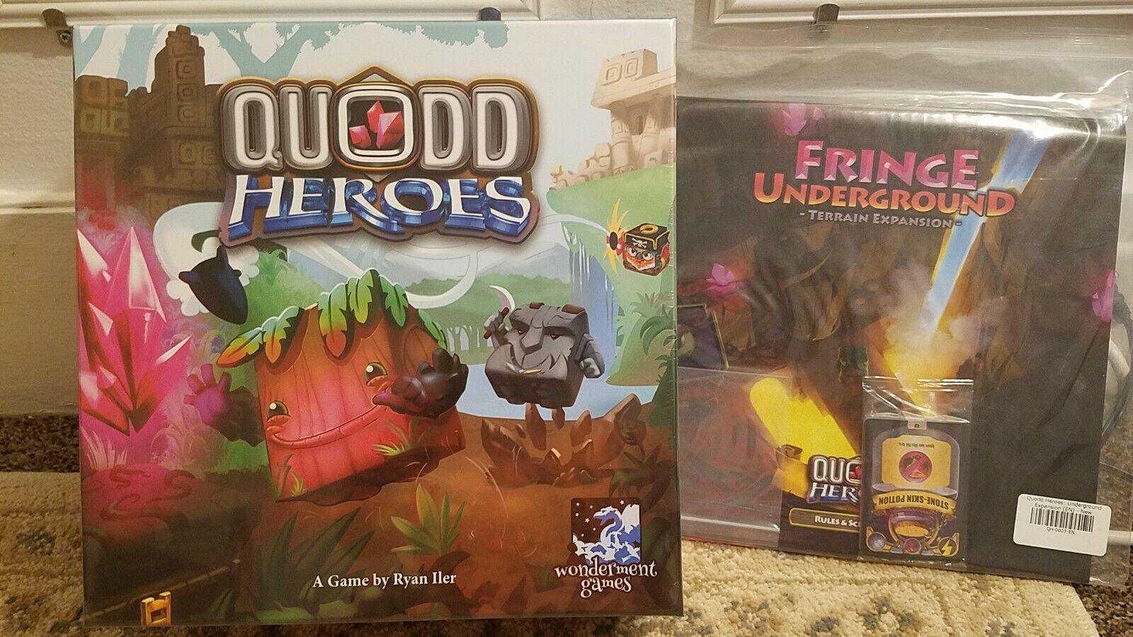 Quodd Heroes-pédale de démarrage Exclusive Edition avec terrain Expansion