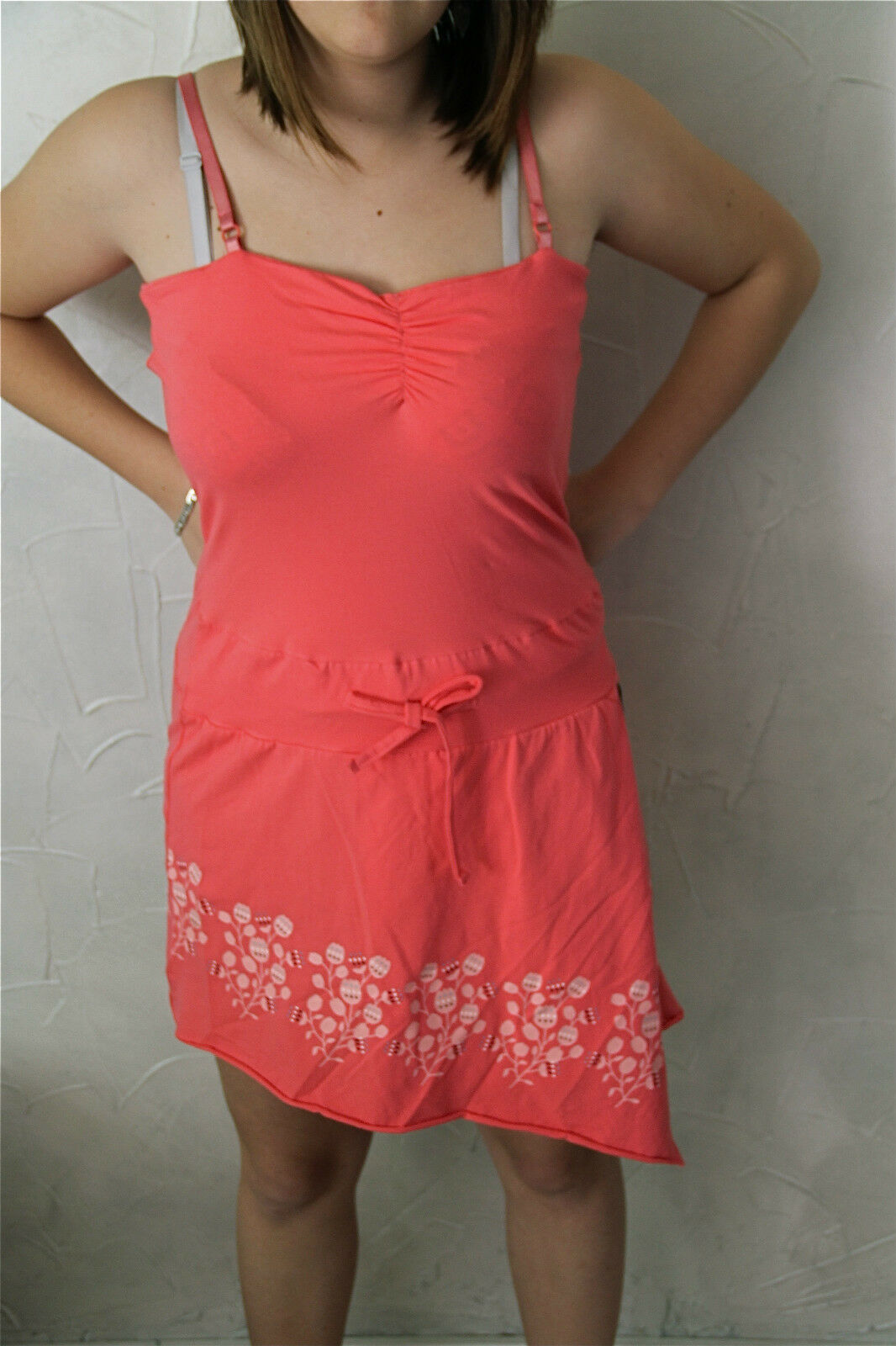 d3fead3ad9 neon pink KANABEACH poom-gd SIZE 38 NEW value Dress LABEL ...