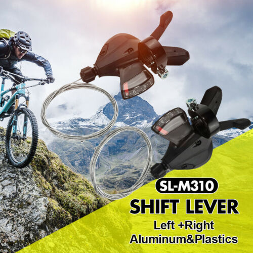 Universal 3x8 Speed Shift Lever Shifter Bike Bicycle Parts for Acera SL-M310 US