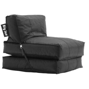 Image Is Loading 2 In 1 Bean Bag Chair Flip Lounger