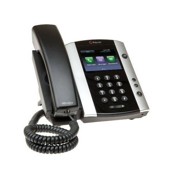 Polycom VVX 500 12-Line Gigabit VoIP Business Media Phone 2201-44500-001