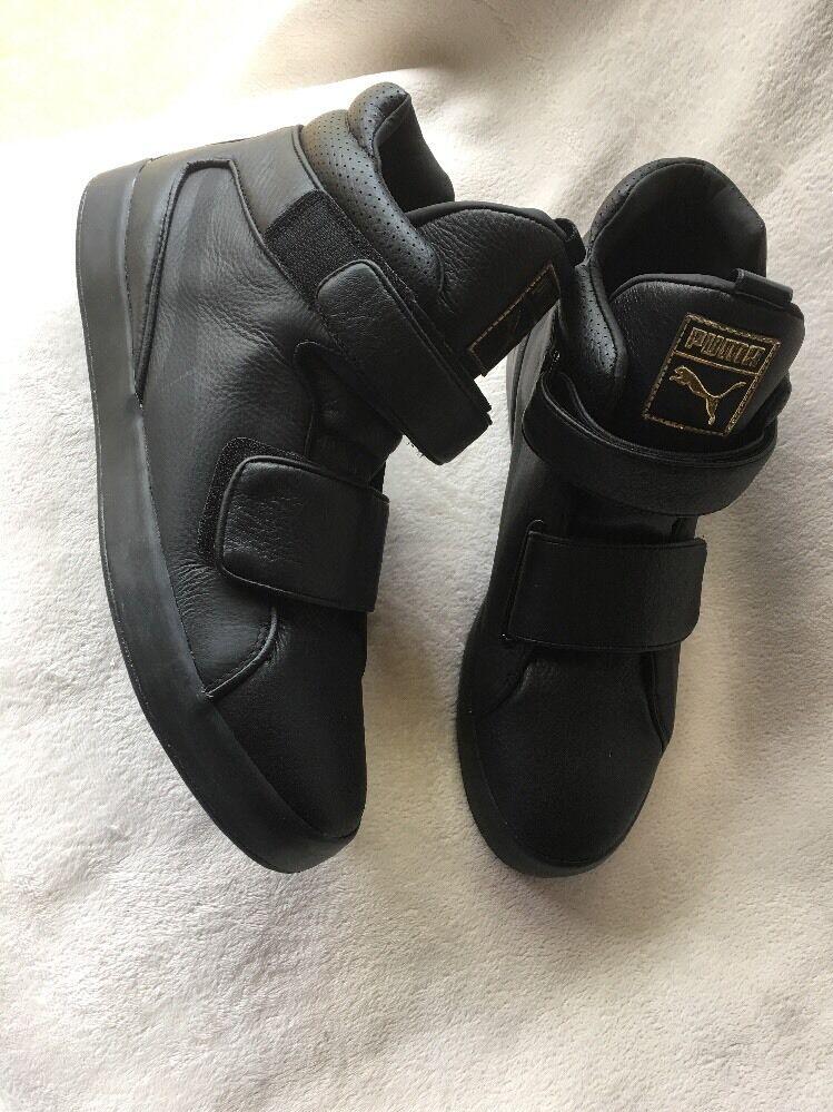 Puma Hombre Apex High comodo Top zapatillas Negro color comodo High 4152ca