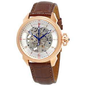 Lucien-Piccard-Trevi-Mechanical-Mens-Watch-LP-40052M-RG-02S-BRW