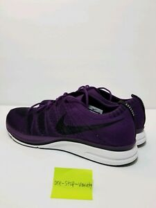 new style d45b9 270f0 Image is loading NIKE-FLYKNIT-TRAINER-Night-Purple-Men-s-Shoes-