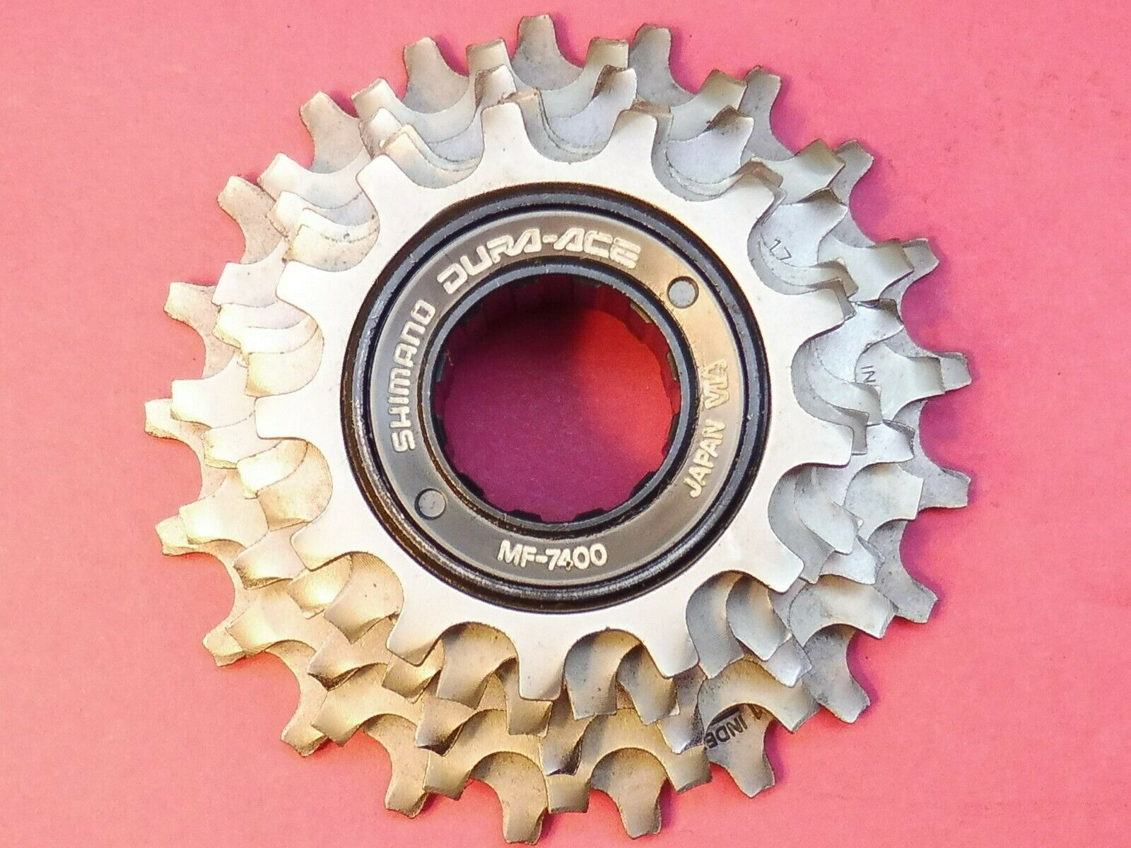 Shimano Dura Ace (MF-7400) 6-speed 13 21 bicycle freewheel - NOS L'eroica