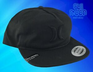 NEU-Hurley-The-Classic-Relaxed-Fit-Snapback-AP-Muetze