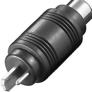 Adapter - Lautsprecher Stecker auf Cinchbuchse - LS-Stecker auf Cinch - Audio