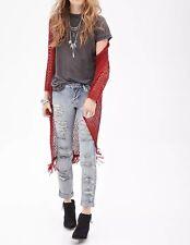 FOREVER 21 Women's Low Rise Boyfriend Jeans(Blue, Size:US M/EUR M)