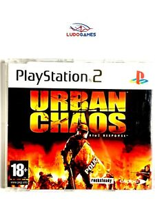 Urban-Chaos-Eur-PS2-Retro-PLAYSTATION-Videogame-Videojuego-Complet-Mint-State