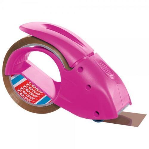 tesa Packbandabroller pink Packband Kleberoller Paketroller Paketabroller