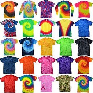 Tie-Dye-T-Shirt-Top-Tee-Tye-Die-Music-Festival-Hipster-Indie-Retro-Unisex-tshirt