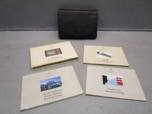 MERCEDES-BENZ S-KLASSE (W220) S 600 Bedienungsanleitung Bordmappe Bordbuch
