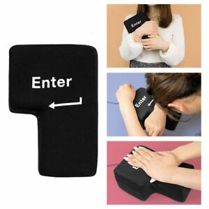Big-Enter-Button-USB-Computer-Desktop-Pillow-Vent-Enter-Key-Hand-Pillow-Creative