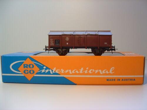 1 von 1 - ROCO 4313 Güterwagen Klappdeckelwagen DB OVP A50