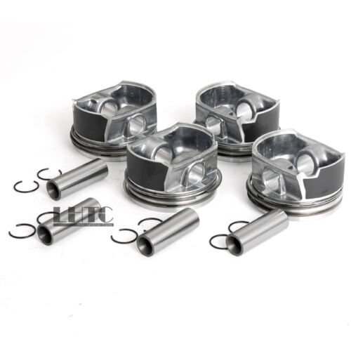 82.5mm For VW GTI MK5 MKV Audi A3 A4 2.0 TFSI BPY BWA 4x Pistons /& Rings Φ20mm