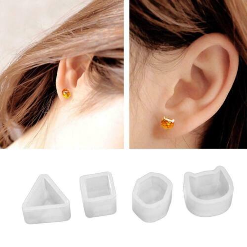 Women Fashion DIY Handmade Jewelry Pendant Cartoon Making Earrings Stud H8D5