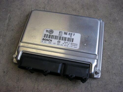 Motorsteuergerät VW Passat 3B VR5 AGZ 071906018P Steuergerät Motor 0261206165