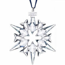 BRAND NEW 2007 LARGE SWAROVSKI CRYSTAL CHRISTMAS ORNAMENT STAR/SNOWFLAKE 0872200