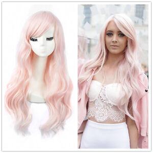 Elegant-Women-Long-Pink-Curly-Hair-Cosplay-Lolita-Costume-Party-Fashion-Full-Wig