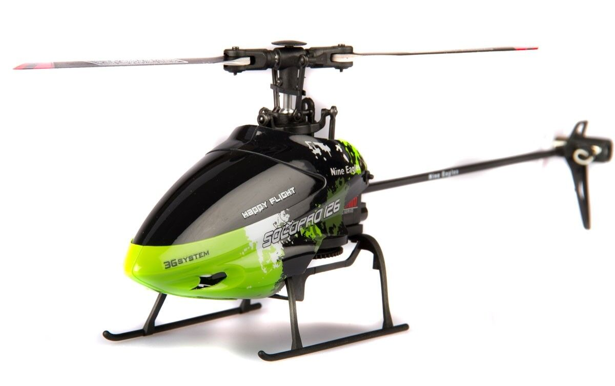 Helicopter-RC-Nine eagles solo pro 126