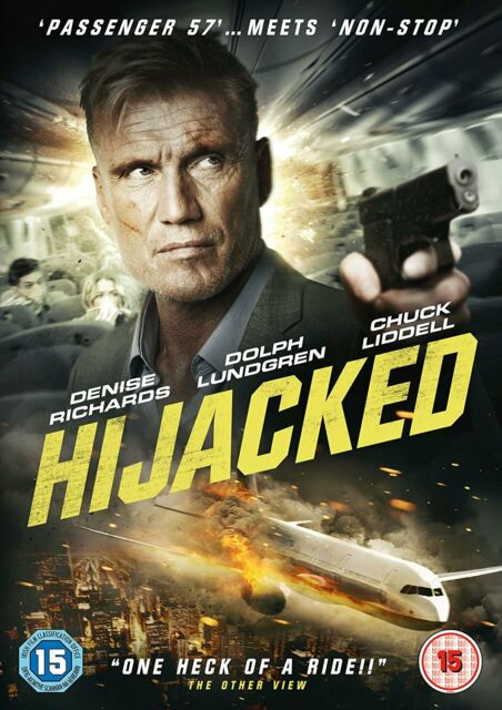 Hijacked DVD (2017) Denise Richards Dolph Lungren (Aquaman Creed 2) ***NEW***