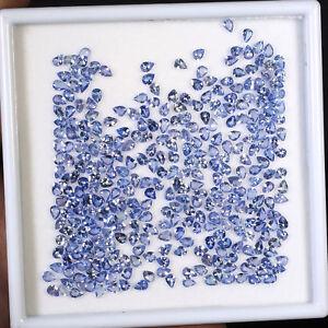 329-Pcs-Natural-Tanzanite-Top-Quality-Sparkling-Gemstones-3-90mm-4-66mm-Pear-Cut
