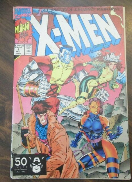 X-Men 1st Issue -  A Legend Reborn Vol 1 No 3 (October 1991 - Marvel Comics)