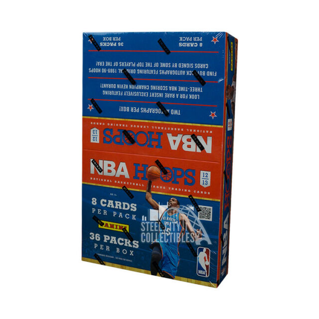 2012-13 Panini NBA Hoops Basketball Hobby Box