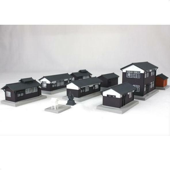 Kato 23-233 Bâtiments Gare / Wood Station Building Set - N
